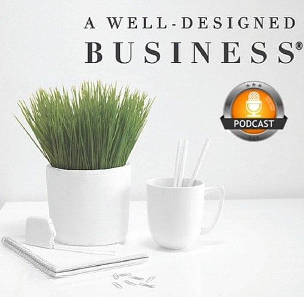 A Well Designed Business Podcast with guest Nancy Ganzekaufer, creator of the Interior Design Profit Formula
