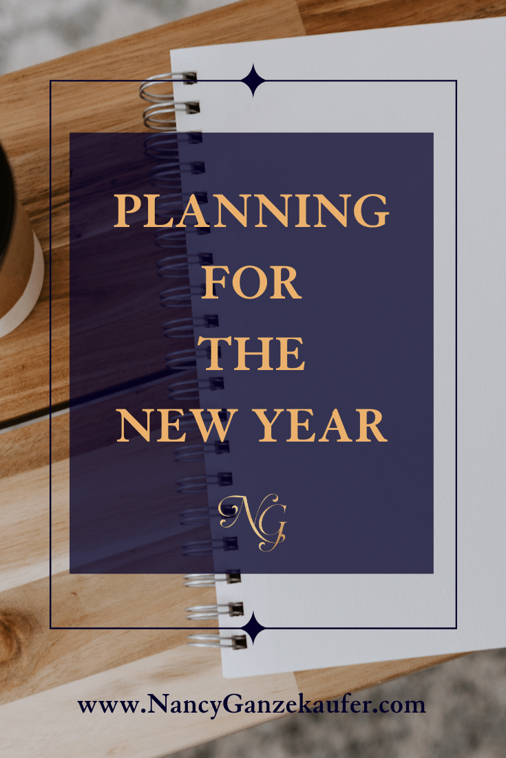 Planning for the New Year and setting business goals for success.