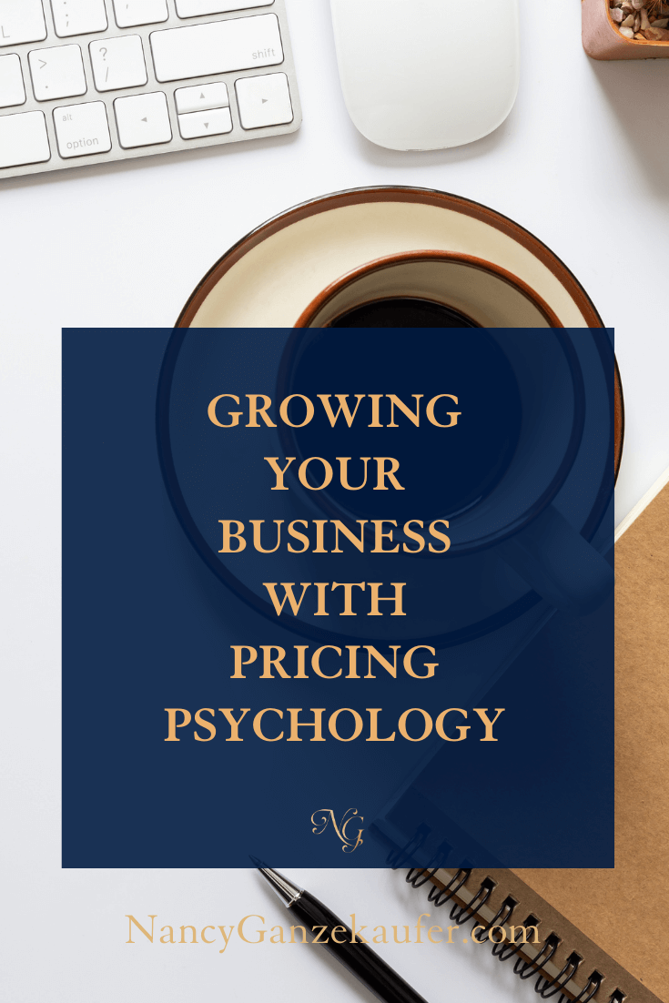 Growing your business with pricing psychology tips.