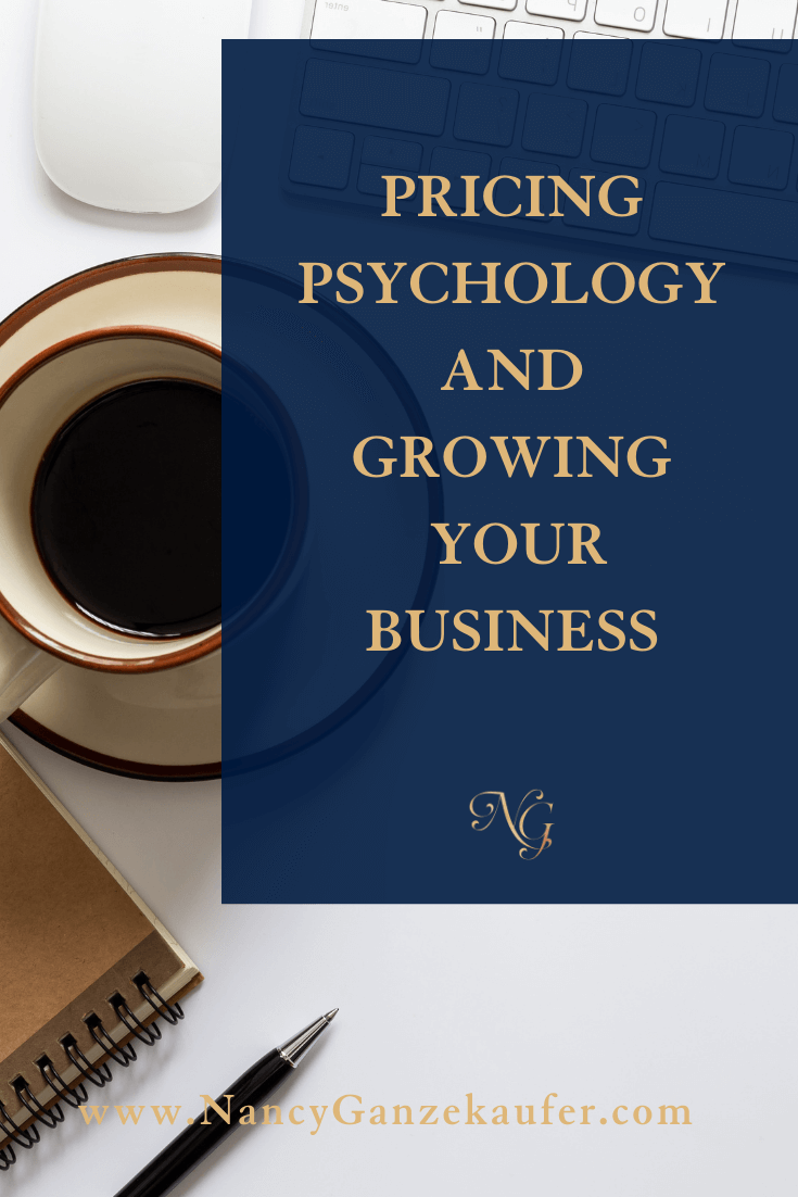 Pricing psychology tips and growing your business.
