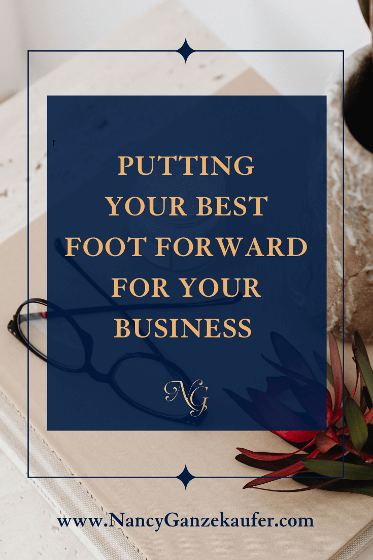 Putting your best foot forward for your business and achieving success with a welcome packet