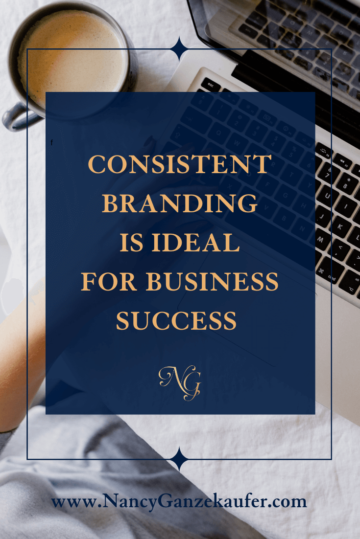 Consistent branding is ideal for your business success.
