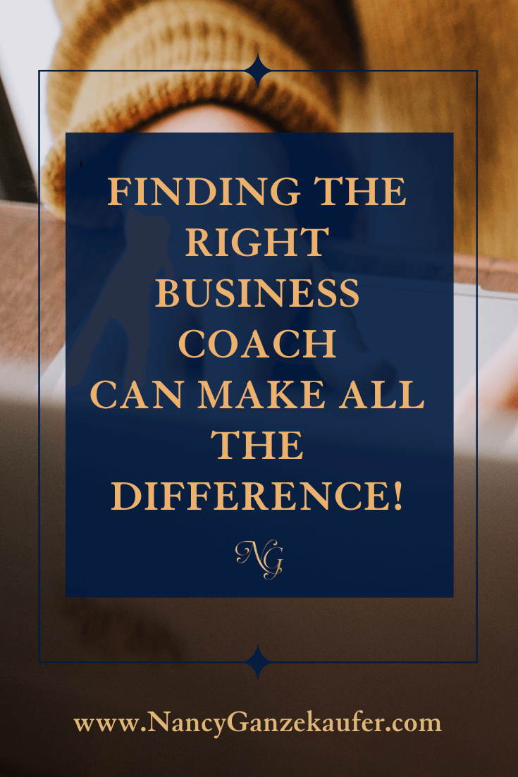 Finding the right business coach can make all the difference in your success.