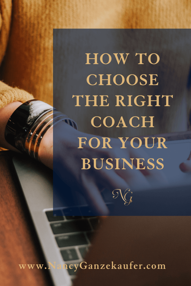 How to choose the right coach for your business.