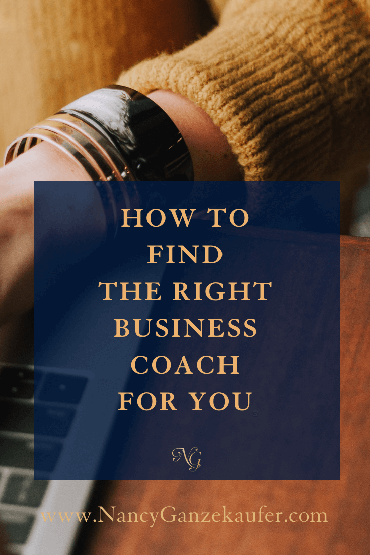 How to find the right business coach for you.